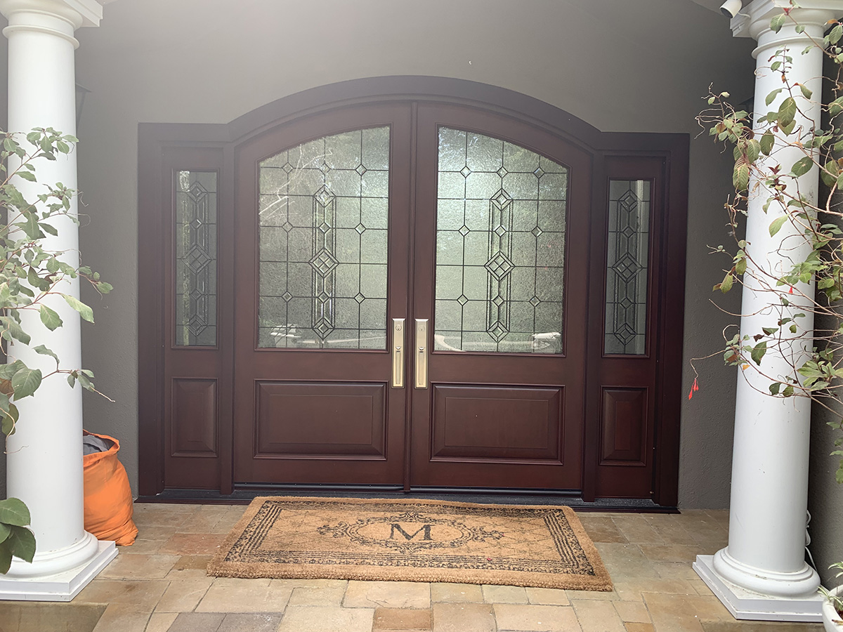 Double Entry Santa Clara CA Replacement Windows And Doors