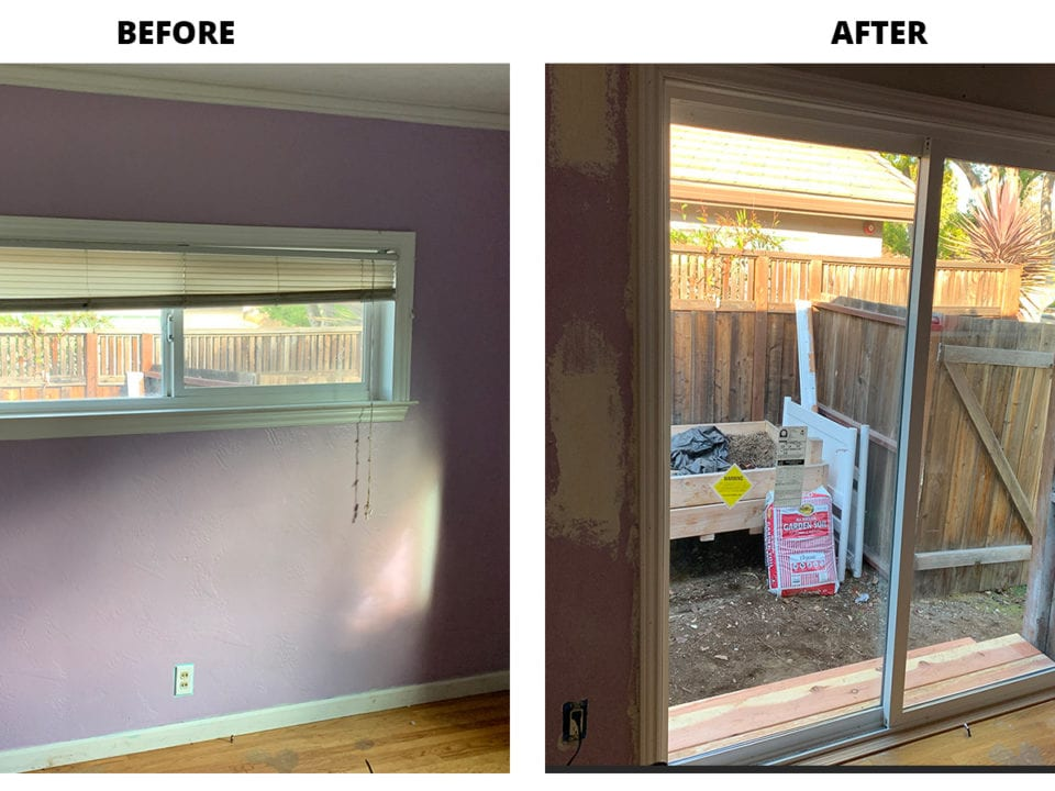 Interior Fremont CA Replacement Windows